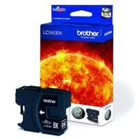 Brother LC-980 Inkjet Cartridge Black LC980BK