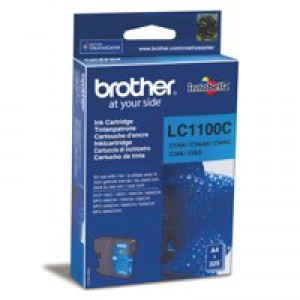 Brother LC-1100 Inkjet Cartridge Cyan LC1100C