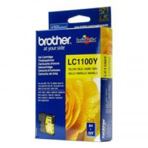 Brother LC-1100 Inkjet Cartridge Yellow LC1100Y