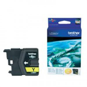 Brother DCP-J125/315W/515W MFC-J265W/J410/J615W Inkjet Cartridge Yellow LC985Y