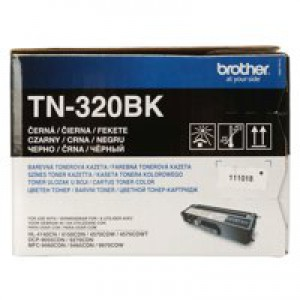 Brother TN320 Toner Cartridge Standard Yield Black TN320BK