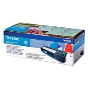 Brother TN320 Toner Cartridge Standard Yield Cyan TN320C