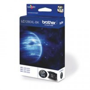 Brother Inkjet Cartridge High Yield Black LC1280XLBK