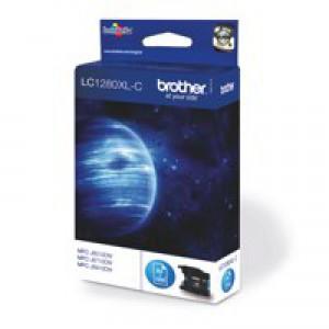 Brother Inkjet Cartridge High Yield Cyan LC1280XLC