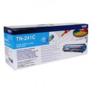 Brother HL3140/3150/3170/DCP-9020/MFC-9020/9140/9330/9340 Toner Cartridge Cyan TN241C