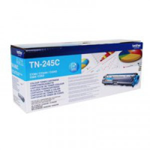 Brother HL3140/3150/3170/DCP-9020/MFC-9020/9140/9330/9340 High Yield Toner Cartridge Cyan TN245C