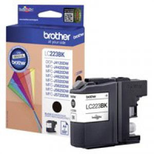 Brother Black Inkjet Cartridge LC223BK