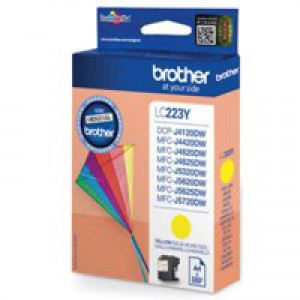 Brother Yellow Ink Cart LC223Y
