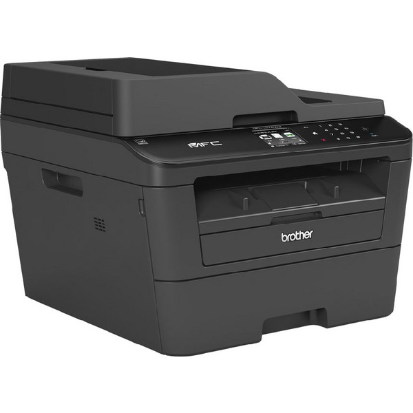 Brother MFC-L2740DW Mono Laser All-in-One Printer with Fax Black MFCL2740DWZU1