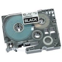 Brother P-Touch Tape 12mm White/Black TZE335