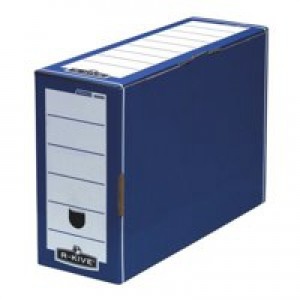 Fellowes Bankers Box Premium Transfer File Blue/White 00059-FF