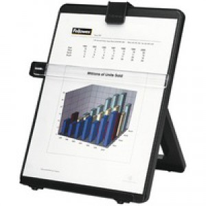 Fellowes Workstation Document Holder Black 21106