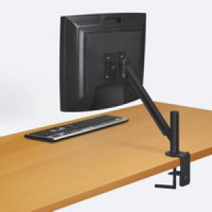 Fellowes Smart Suites Flat Panel Monitor Arm Black 8038201