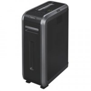 Fellowes 125Ci Professional Shredder 3.9x38mm Cross Cut 49 Litre Din3 18 Sheet Ref 461210