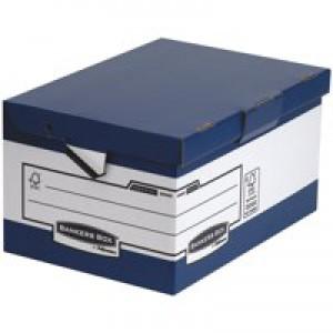 Fellowes System ERGO-Stor Maxi Blue/white