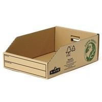 Fellowes Basics Parts Bin Corrugated Fibreboard Packed Flat W200xD280xH102mm Ref 07355 [Pack 50]