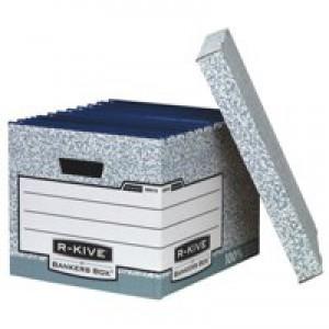 Fellowes R-Kive System Storage Box Grey inc. 2 Extra 00810-FF