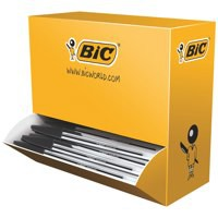 Bic Cristal Medium Ballpoint Pen Value Pack Black 896040