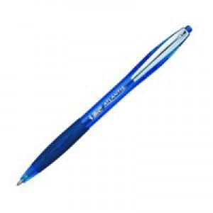 Bic Atlantis Premier Ballpoint Pen 1.0mm Blue 902132