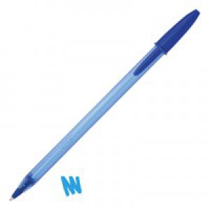 Cristal Soft Medium Ball Point Pen Blue 918519