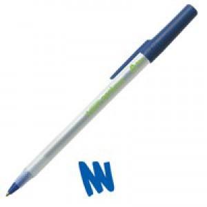 Bic Ecolutions Ballpoint Pen Blue 893240