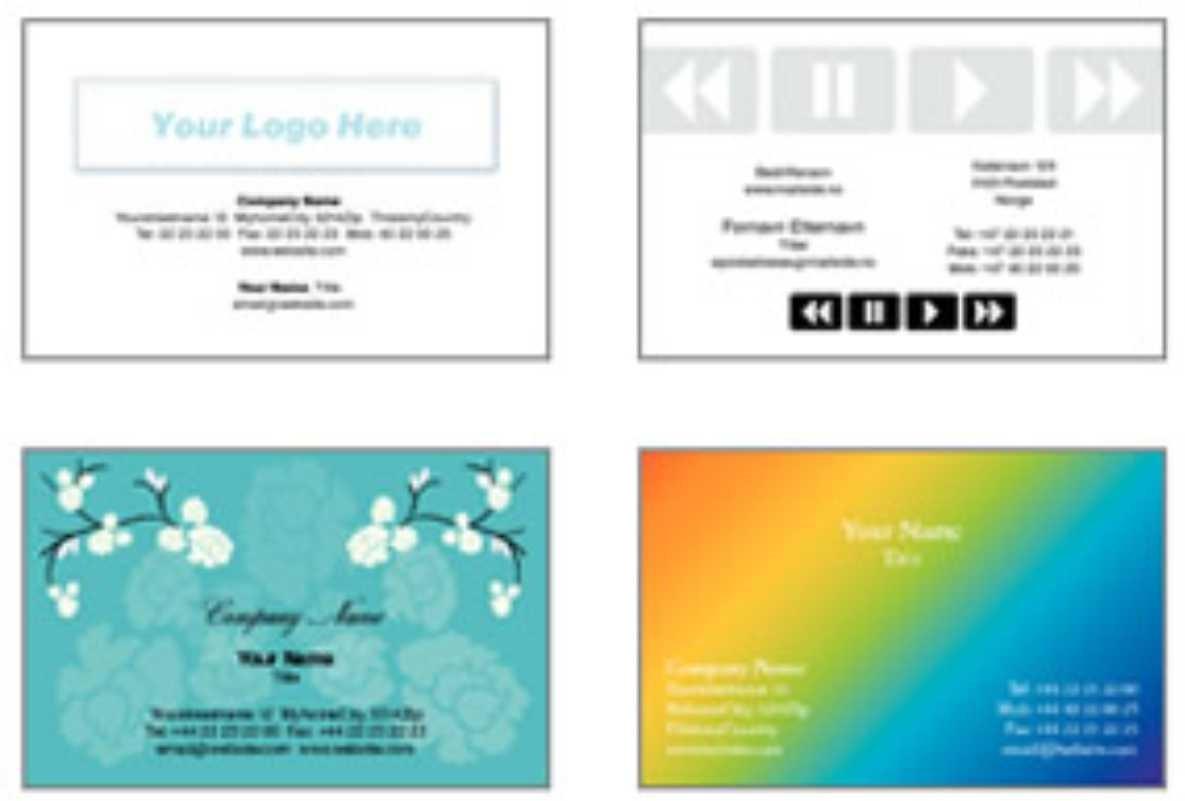 Business Cards Colour x250
