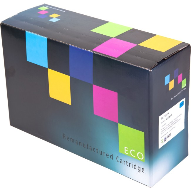 EC HP CB542A Yellow Remanufactured Toner