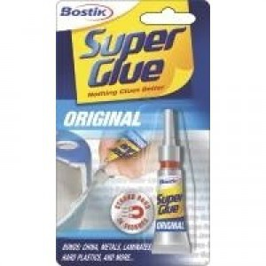Bostik Super Glue Tube 80607 Pack of 12 80607