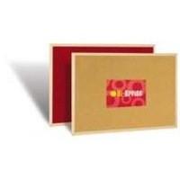 Bi-Office Memo Cork Board Red 600x900mm FB0710010