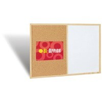Bi-Office Cork/Write On Wipe Off Board 600x400mm MX03001010