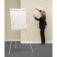 Bi-Office Self-Stick Flipchart Pad 635x780mm 30 Sheets White FL128107