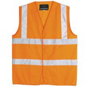 *Proforce High Visibility Vest Class 2 Large Orange HV05OR-L V-EX10 (136722) SHVJ