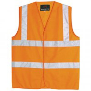 Proforce High Visibility Vest Class 2 Extra Large Orange HV05OR-XL