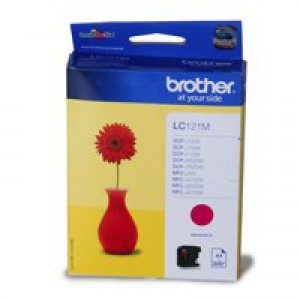 BROTHER LC121 MAGENTA
