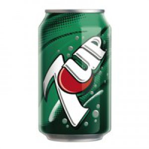 7-Up 330ml Can Pack of 24 3388