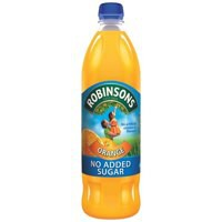 Robinsons No Added Sugar Orange Squash 1L Pk 12