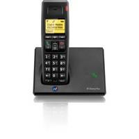 BT Diverse 7110 Plus DECT Telephone Single Black 44708