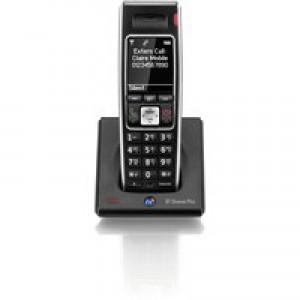 BT Diverse 7400 Plus DECT Handset Single Black 44714