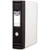 Hermes HD 80mm Polypropylene Box File A4 2D-Ring Black 8.BA4.001