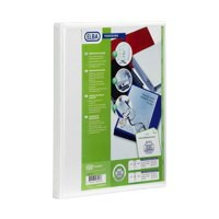 Elba Panorama Presentation Binder A4 2D-Ring 65mm White 400008048