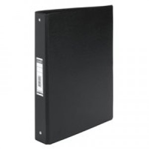 Bantex 4-Ring Binder PVC A4 Black 100080881