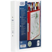 Bantex Vision 2-Ring Binder A4 25mm White 100080889