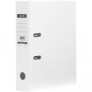 Bantex Lever Arch File PVC A4 Upright 70mm White 100080902