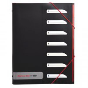 Black n Red By Elba 7 Part Sorter (Pack of 1) 400051534