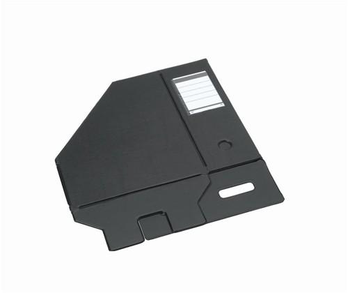 Bantex Magazine File PVC 110mm A4 Black 401330