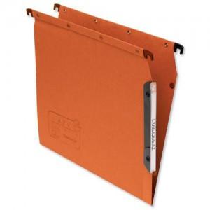 Elba Lateral Suspension File V Base Orange Pack of 25 L500000