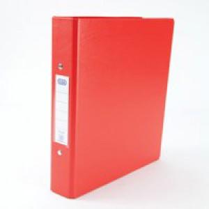 Elba 2-Ring Binder A5 Red 100082444