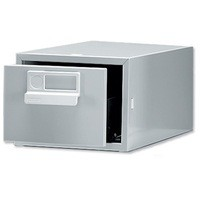 Image for Bisley Card Index Cabinet 6x4 inches Single Grey FCB14