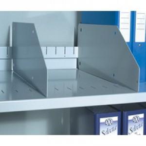 Bisley Shelf Divider 6 inches High Grey Pack of 5 BSDP5