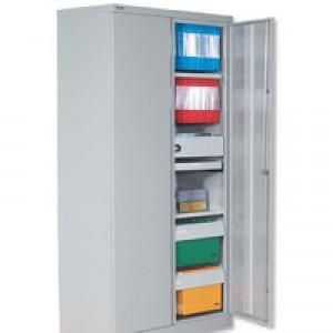 Bisley 2D Cupboard 72X36 Grey